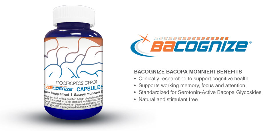 Bacognize Bacopa monnieri Benefits