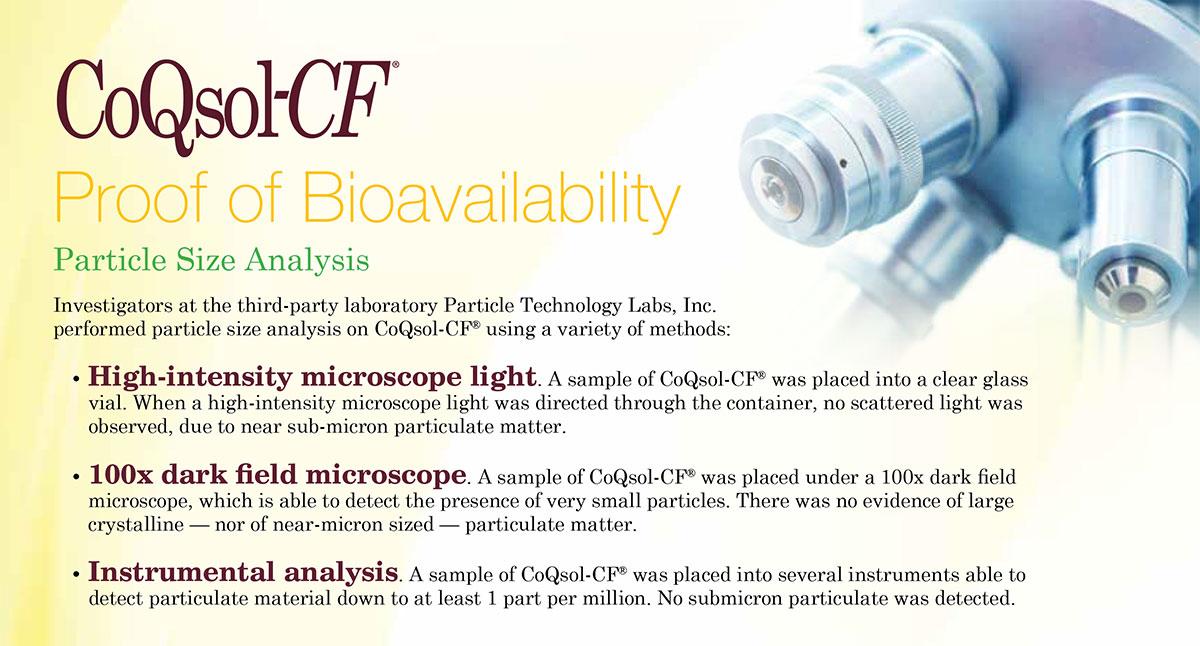 CoQ10 Bioavailability